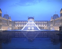 The Louvre, Paris - Architectural Animation