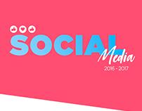 Social media 2016 - 2017