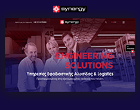 Corporate Website Design for Synergy