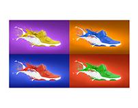 Shoe Splash_Ad Concept