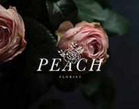 Peach Florist Branding Suite