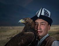 I love my bird , The Eagle Hunter of Kyrgyzstan