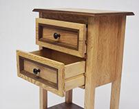 Handmade Wooden Side-table