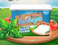 Bahçıvan Bembeyaz Cheese / Packaging Design