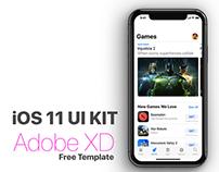 FREE DOWNLOAD iOS 11 UI Kit