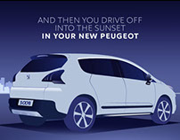 Peugeot - Finance animations series