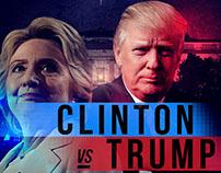 Clinton VS. Trump Poster