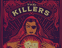 The Killers - Tshirts & Gigposters 2016