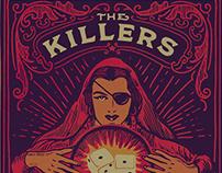 The Killers - Tshirts & Gigposters 2016