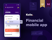 Kollo. FinTech Mobile Application