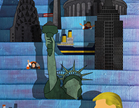 The New Yorker - Trump V. The Earth