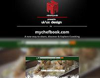 Mychefbook Preview | Web Design