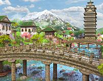 Asian Fantasy Environment