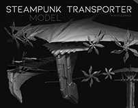 """Steampunk Transporter"" model"