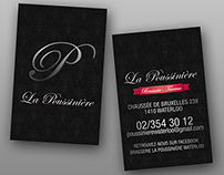La Poussinière / Business Card
