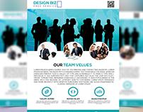 My Team Work Flyer