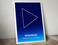 Cartaz minimalista do Filme Medianeras