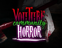 YouTube Horror Community Thumbnail Designs