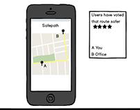 Safepath mobile app