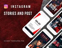SPORT - social media template