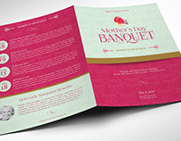 Mothers Day Event Program Word Publisher Template