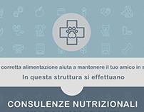 2018 - Locandina per nutrizionista veterinaria