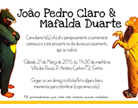wedding invitations: Mafalda & João