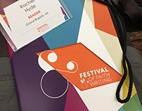 Event Branding / Festival of Faith & Writing 2016