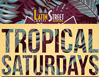 Latin Street Promotional Flyer