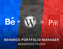 Portfolio Manager - Behance Plugin for WordPress