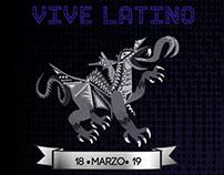 Cartel y Flayer de evento Vive Latino 2017