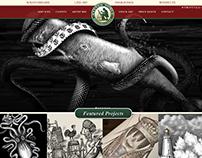 The New Steven Noble Illustration Promotional Website