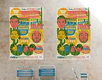 Design Poster HOCO Festival. Orkesta Mendoza & IMS