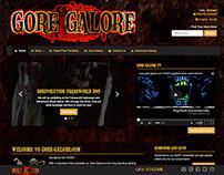 Gore-Galore.com (WordPress Theme)