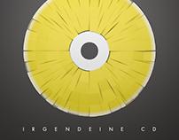 """CD-Packaging """"Irgendwas mit Zitronen"""""""