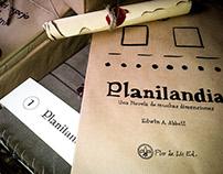 """Edición """"Planilandia"""" como Libro de Artista"""