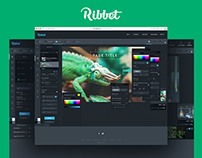 Design for Online Photo Editor Ribbet.com