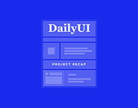 DAILYUI – 100 Day Project