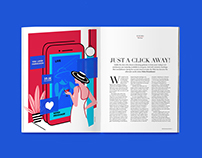 VERVE INDIA | EDITORIAL ILLUSTRATIONS