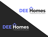 Dee Homes | Real Estate Logo & Brand Identity