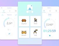 Casa Smart Home App Settings concept - Daily UI #007