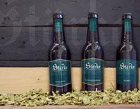 STÄRKE // Beer label