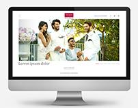 Arvind Clothing Website Design