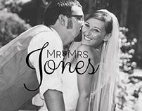 Mr. & Mrs. Jones: Wedding Photography
