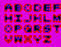 Experimental Typography Computer Generated