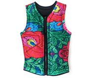Neopren vest for Nomoreblack