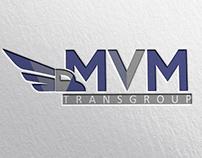 MVM Transgroup - logo design for transport company