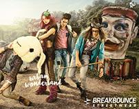 Breakbounce Streetwear AW'16 - Urban Wonderland
