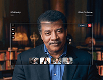 Virtual classroom conference redesign