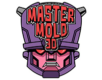 Master Mold 3D- Brand/Logo
